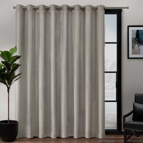 ATI Home Loha Patio Grommet Top Single Curtain Panel - 108x84