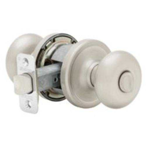 Kwikset 730H15RCLRCSBX Hancock Privacy Knob, Satin Nickel