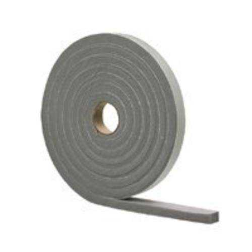 M-D Building 02311 Foam Weather Stripping Tape, Gray, 1/2X3/4X10'