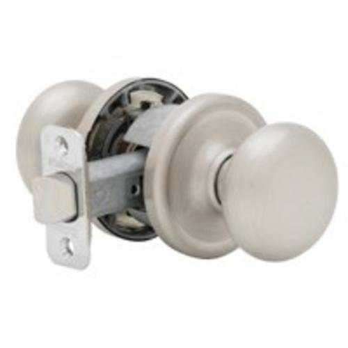 Kwikset 720H156ALBX Hancock Passage Lock, Satin Nickel